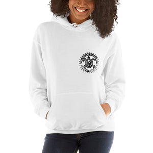 Protect and Surf - Unisex Hoodie - 5UR71NG.com Surfing apparell eco surf california 5 oceans