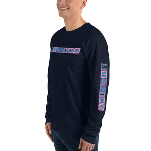 Long sleeve t-shirt - 5UR71NG.com Surfing apparell eco surf california 5 oceans
