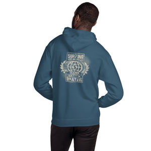 Protect 5 - darks - Unisex Hoodie - 5UR71NG.com Surfing apparell eco surf california 5 oceans