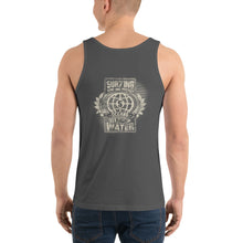 Protect 5 - darks - Unisex Tank Top - 5UR71NG.com Surfing apparell eco surf california 5 oceans
