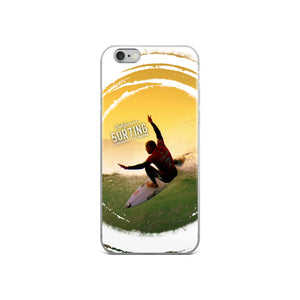 iPhone Surfing Case - 5UR71NG.com Surfing apparell eco surf california 5 oceans