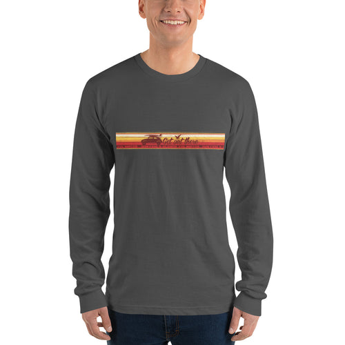 Get Out There Long sleeve t-shirt - 5UR71NG.com Surfing apparell eco surf california 5 oceans