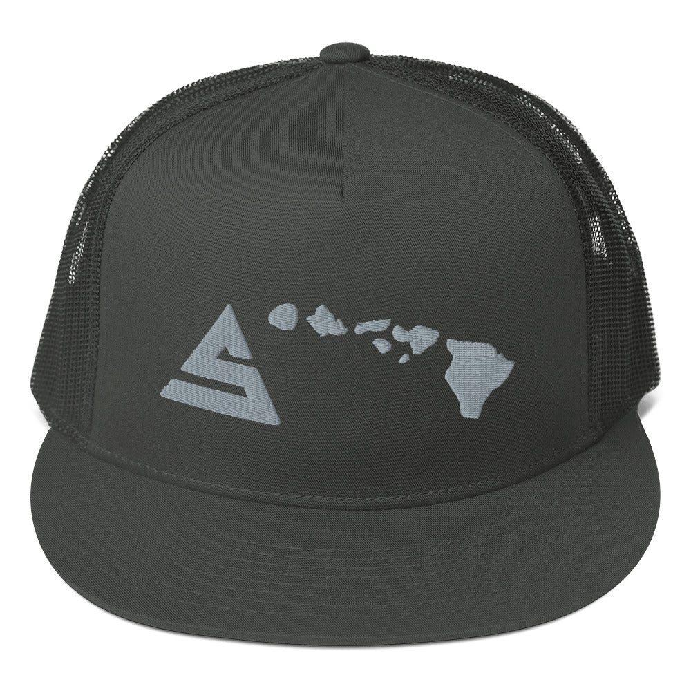 Hawaii 5 Mesh Back Snapback - 5UR71NG.com Surfing apparell eco surf california 5 oceans