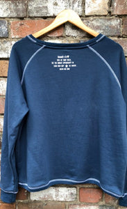 Vintage Super H Washed Navy Sweat