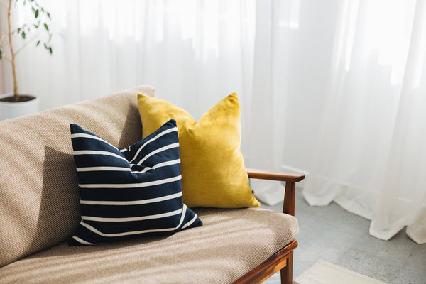 Fairer Fabrics - why organic cotton is winning the interior style war - ethical interiors, ethical home, sustainable home, ethical living, eco-friendly home