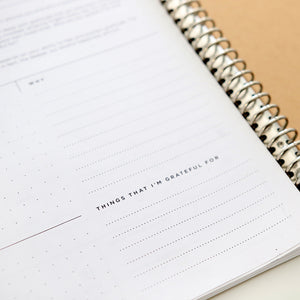 Blissfully Happy Planner & Journal - Printable - Use it any time any year as many times as you wish.