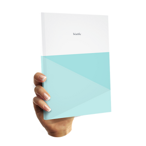Undated -Blissfully Happy PLanner - Blueish