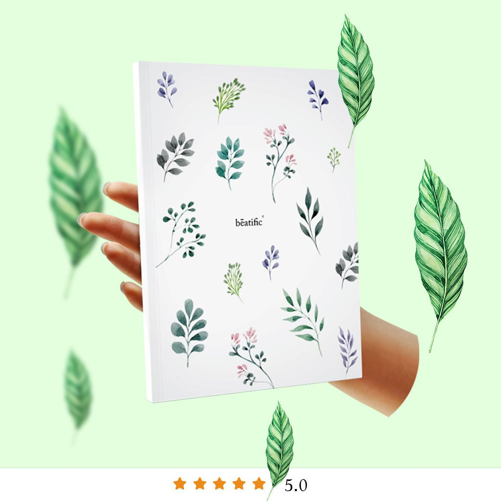 Blissfully Happy Planner - Undated - Leafy