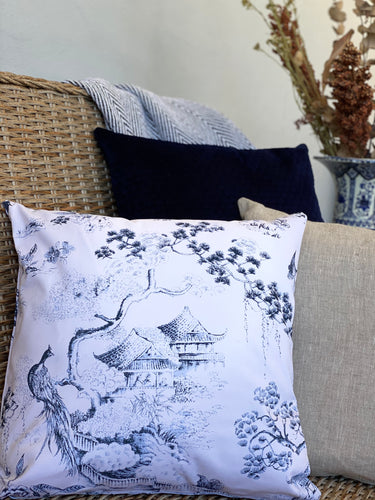 Blue Dynasty Cushion Cover