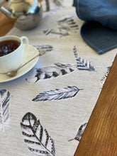 Floating Feathers Table Runner