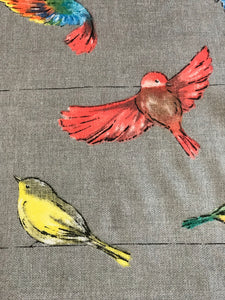 Tea Towel Wrens on a Wire