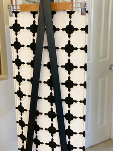 Black & White Geometric Table Runner was $35 now $20