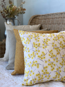 Wattle Linen Blend Cushion Cover