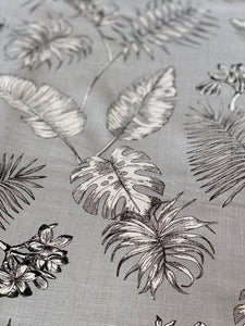 Silver Palm Tablecloth