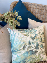 Pacific Ocean Linen Cushion Cover