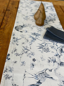 Blue Dynasty Table Runner
