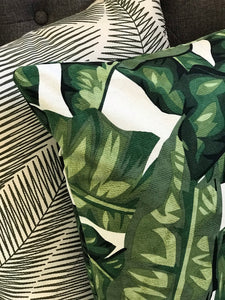 Botanical Large Palm Green