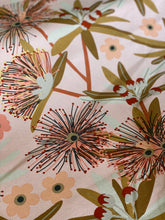 Flowering Eucalypt in Blush Table Runner