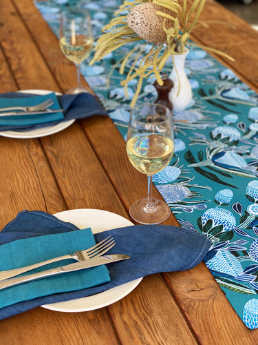 Blissful Banksia Table Runner