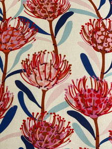 Waratah Linen Cushion Cover