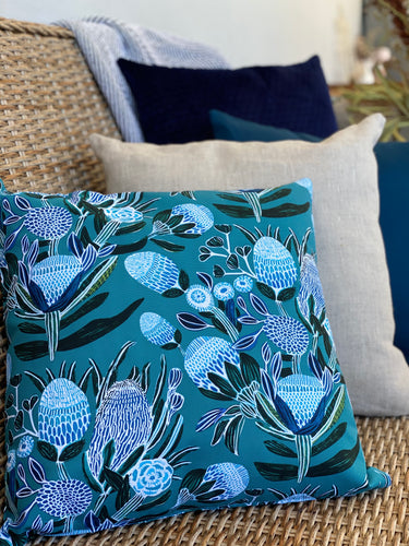 Blissful Banksia Cushion Cover