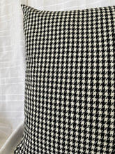Black & White Houndstooth Cushion Cover