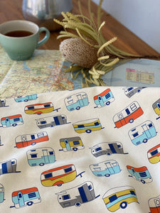 Road Trippin' Tea Towel