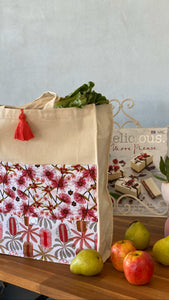 Eucalypt and Banksia Shopping Bag