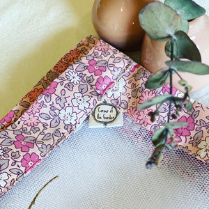 Country Garden Pink Food Cover