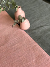 Blush Linen Table Runner
