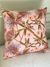 Flowering Eucalypt Blush Cushion Cover