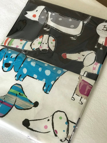 Sausage Dogs Set of Tea Towels
