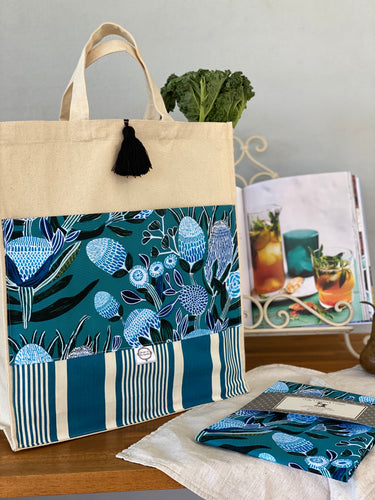 Blissful Banksia Shopping Bag