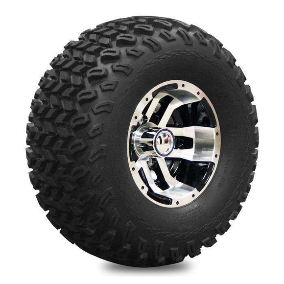 10' Blittz Machined Wheel on 22' Off-Road Pro-Fit tyre - RH