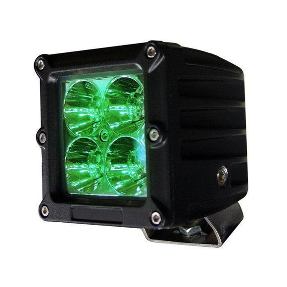4 inch Dual Row Green LED Light Bar