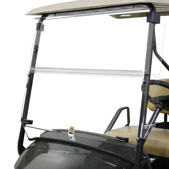 Folding Winged Windshield for EZGO TXT 2014+ - Clear