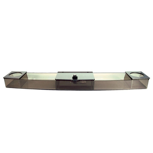 Dash Beverage Tray for EZGO RXV | Turned Titanium