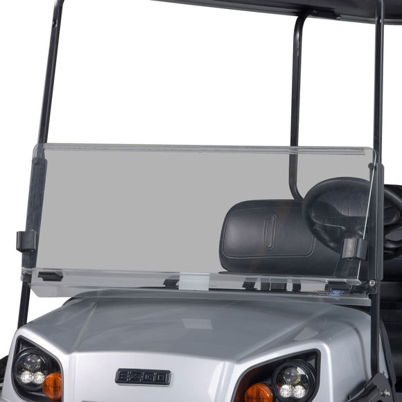 Folding Windshield for EZGO Express - Tinted
