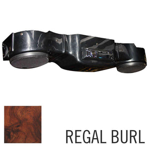 Overhead Radio Console for EZGO TXT-Regal burl
