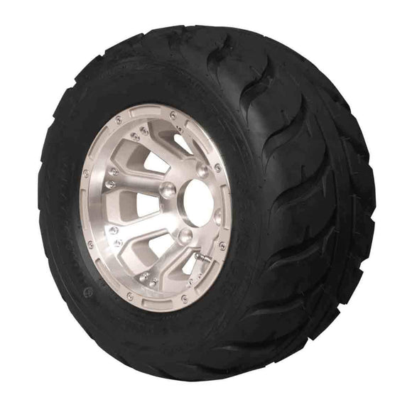 18x10.00-10 Speed Racer with Machined Diamond Wheel Assembly (Driver's Side)