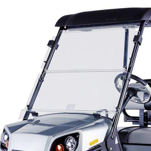 Clear Fold Down Windshield Kit for E-Z-GO Terrain