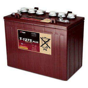 12 Volt Deep Cycle Golf Cart Battery | T-1275 Plus - Single Battery