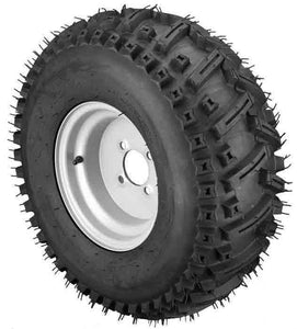 22x11.00-10 Stryker with White Wheel Assembly (Driver's Side)
