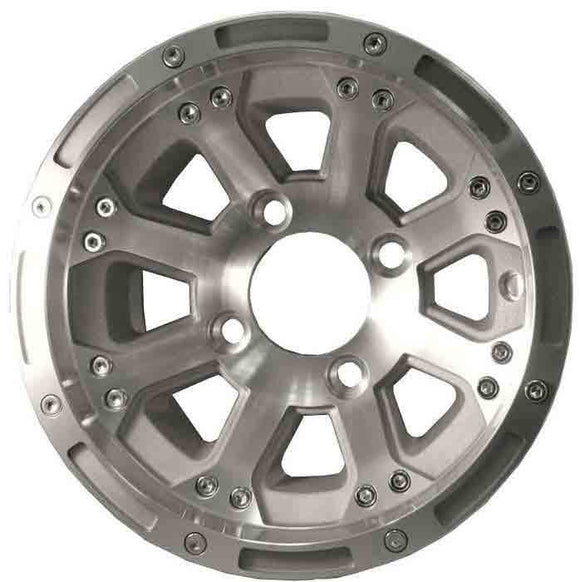 10 Inch Machined Finish Diamond Wheel Assembly