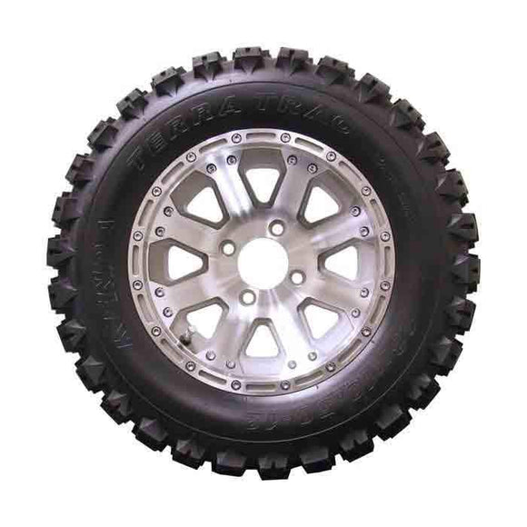 23x10.50-12 Terra Trac with Machined Diamond Wheel Assembly
