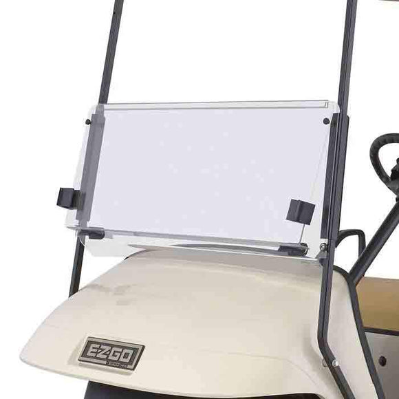 Clear, Split Windshield for Cushman 4/6-Passenger Vehicles