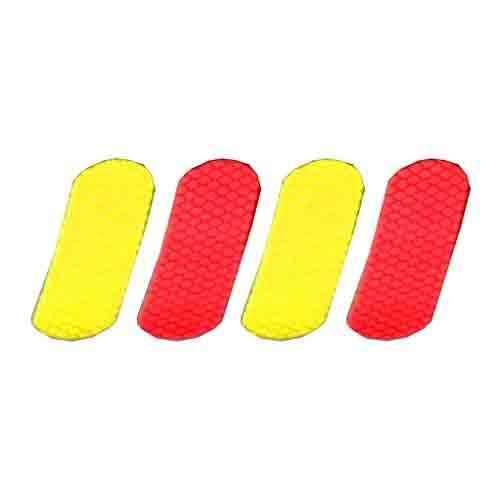 Red and Yellow Reflector Kit for E-Z-GO RXV