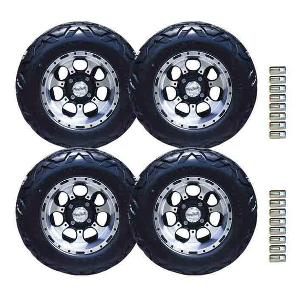 23x10.50-12 VX tyre with Machined Revolver Wheel Package