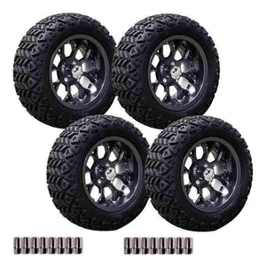 23X10-14 Inch Backlash X Off-Road tyre with Gunmetal Flux Wheel Package