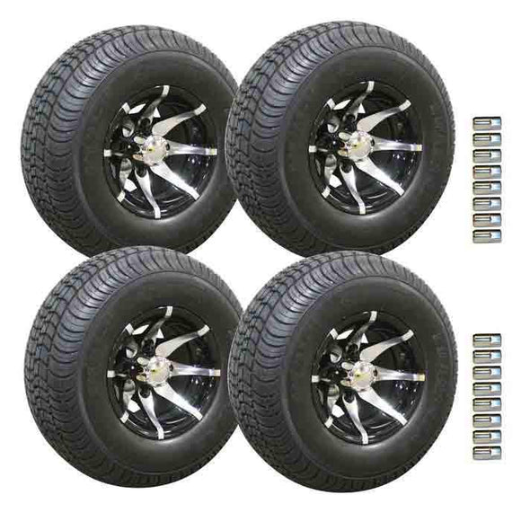 10 Inch Kingpin Wheels on 205/65 Loadstar tyres Combo